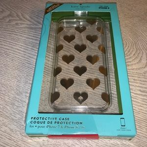Heart iPhone Case 7, 6/6s 8 Kate Spade